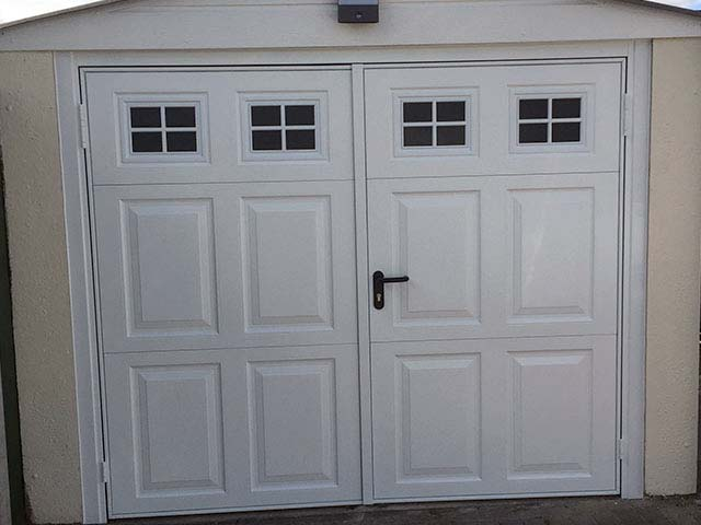 Garage Door Project, John Walters, Colchester - After