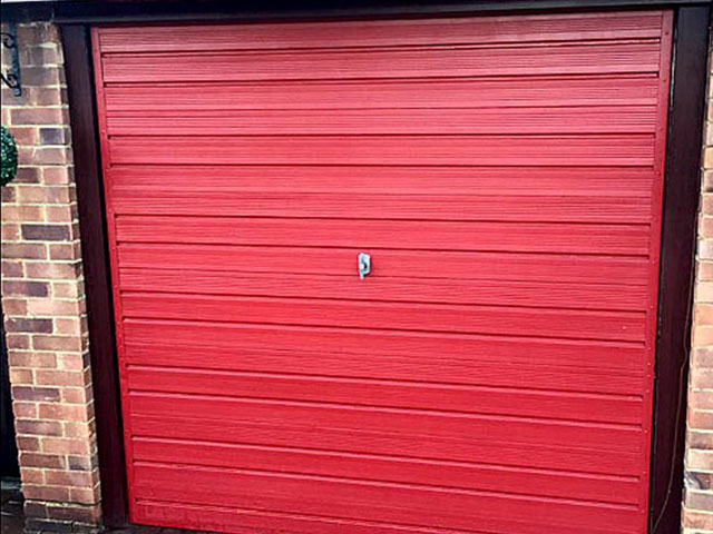 Garage Door Project Mr Webb, Basildon - Before